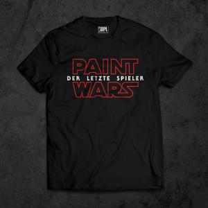 T-Shirt Paint Wars – Der Letzte Spieler
