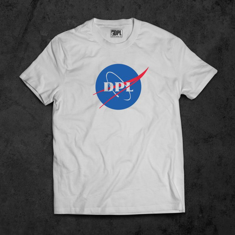 T-Shirt Nasa_weiß