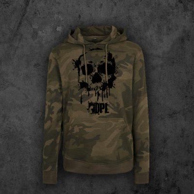 Hoodie Skull Camouflage